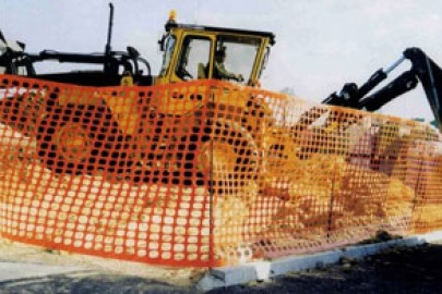 Samex® construction site safety fencing